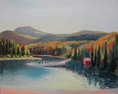 beaver pond 1993