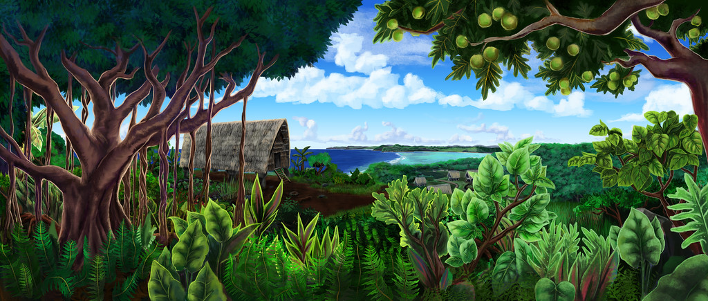 Maisa - Film Animation Backgrounds