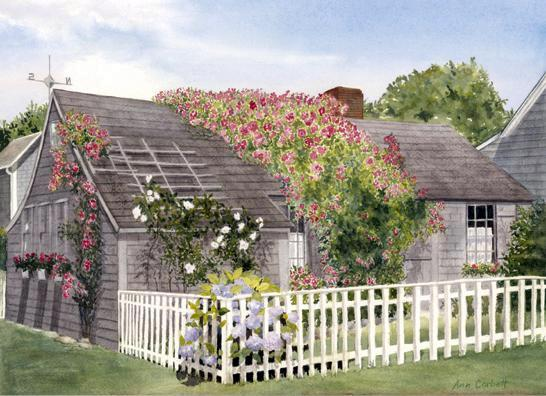 Auld Lang Syne - the oldest house in the village of 'Sconset on Nantucket