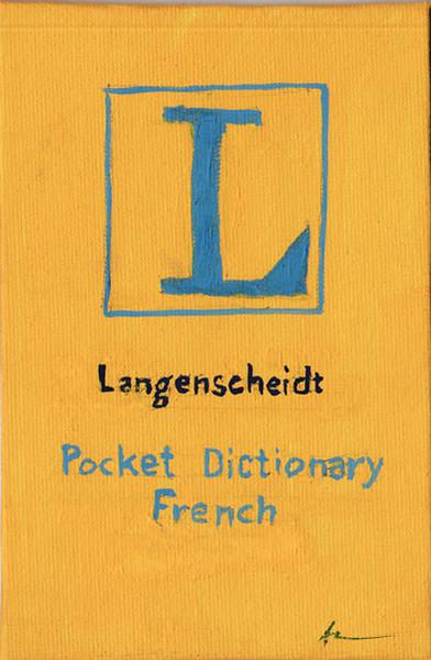Langenscheidt French Dictionary
