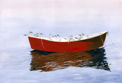 One Red Boat