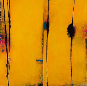 Opaline Dream, No.2; 56in x 56in
