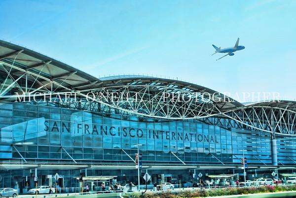 Terminal at the San Francisco Airport/