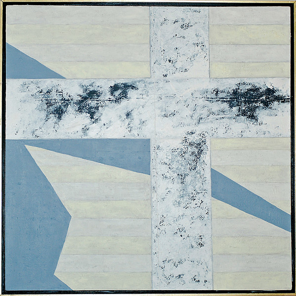 "<center>Anamnesis, 2008 acrylic on canvas 36""x36"" All paintings © R. Meadows-Rogers</center>"