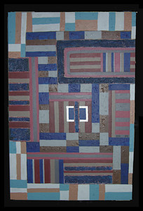 """<center>Homage to Bee Gee, ca. 2006 acrylic on canvas 36""""x24"""" All paintings © R. Meadows-Rogers</center>"""