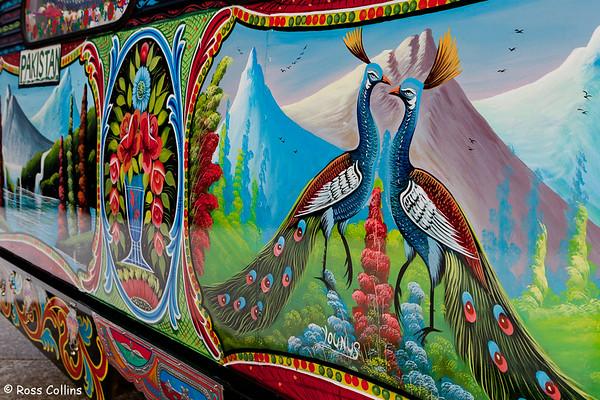 Pakistani Truck Art, Pataka Museum, 16 May 2013