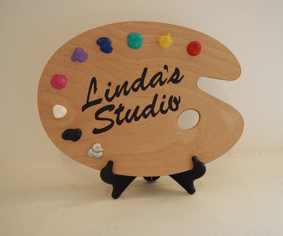 Linda's Studio Sign-SOLD