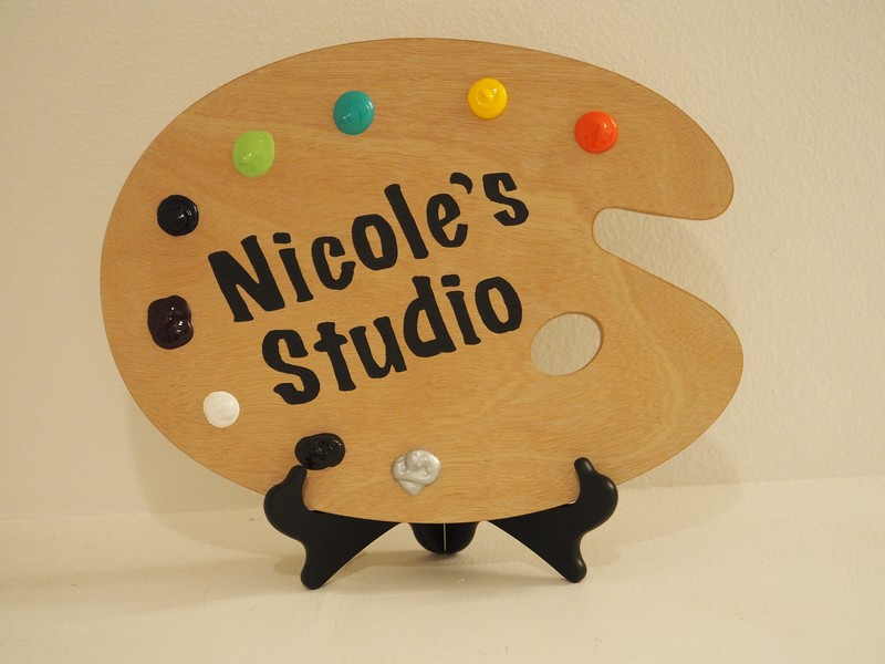 Nicole's Studio Sign-SOLD