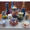 Bottles, Tea Pots, Cups, Glasses