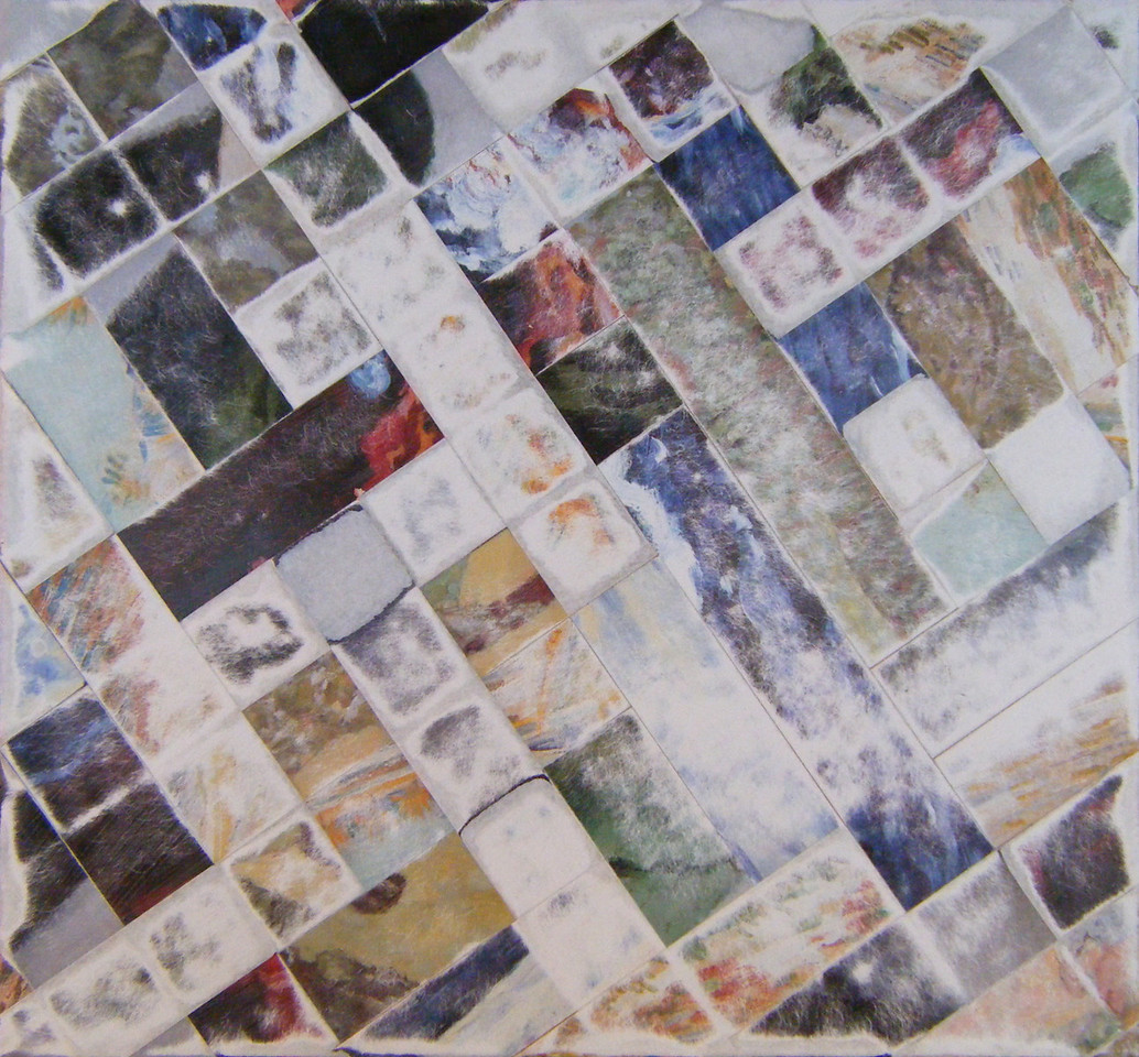 Bamber Hawes ~ woven collage