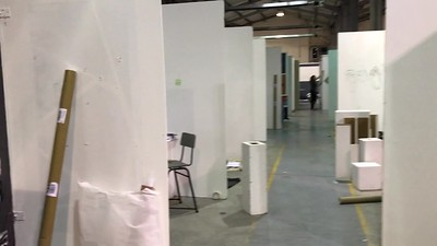 Exhibition 2017 Setup Day Two
