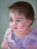 "<h2> Josie </h2>  Pastels on Paper  12"" x 15"""