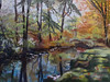 "<h2> ""Change of Seasons, NY""</h2> Original Pastel on Sanded Paper 12""h x 16"" w  $400."