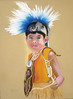 <h2>  PowWow Boy </h2>  Pastels on Paper  12'x15""