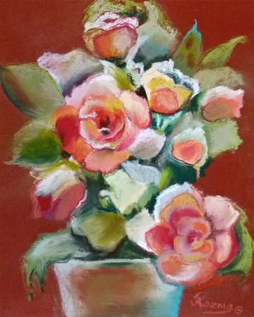 """Quick Sketch Floral"""