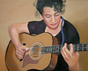 "<h2>""Mellow Note"" <h2/> Pastel On Sanded Paper 16"" h x 20"" w (Lauren) Gift"