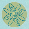 Woven Peace<br /> Pentel Colorbrush<br /> 2009<br /> <br /> The interlacing flows freely into a leafy pattern.  During the recent murders in Northern Ireland, this Celtic mandala came to life, as all citizens lived the daily difficulties of not reviving the Troubles, after a truce of ten years.  Choosing peace every split second takes courage and patience, and a sense of something greater than revenge.