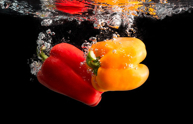Peppers in Water