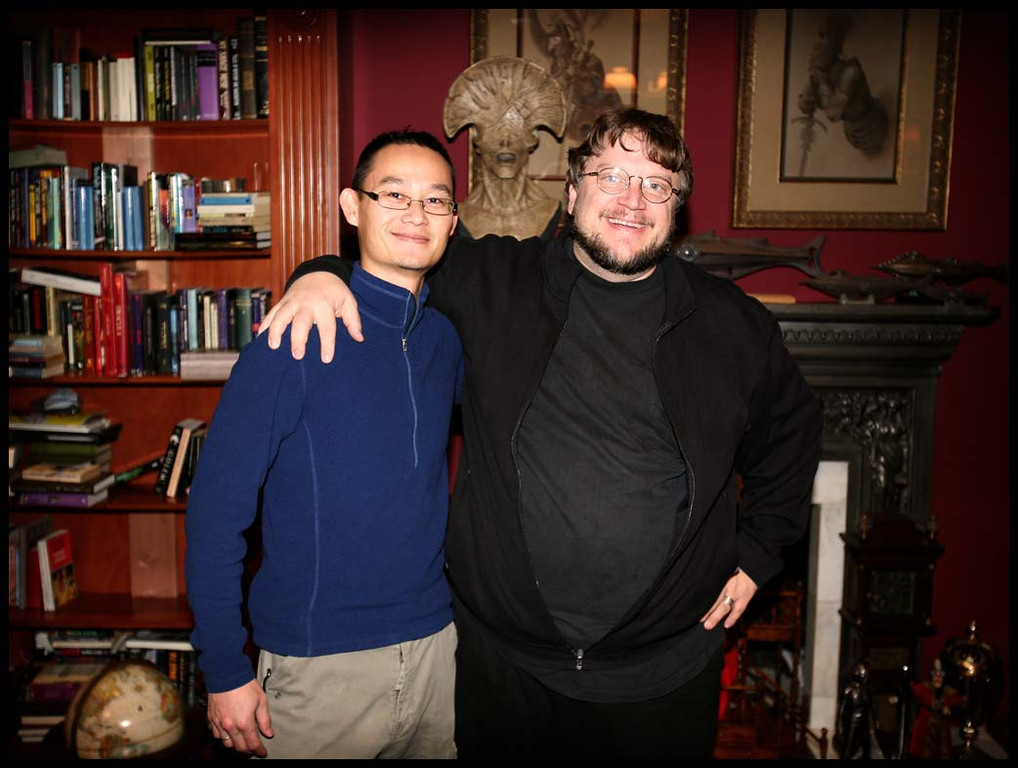 I had the opportunity to direct a photo shoot of director, Guillermo del Toro at his house, which is literally filled with mementos and collectibles. It was pretty crazy. Mr. del Toro was such a nice and talented guy!