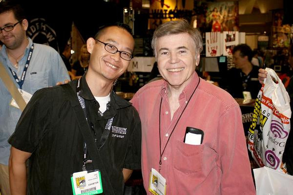 Another actor sighting at the San Diego International Comic-Con... Chekov! Walter Koenig was also a super nice guy,