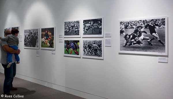 """Peter Bush Exhibition """"Hard on the Heels"""", Expressions Arts and Entertainment Centre, Upper Hutt, 20 July 2013"""