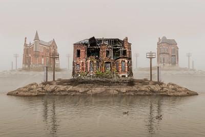 Flynn house Detroit Edmund Place Brush Park Island of Misfits