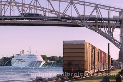 St Clair River - Bluewater Bridge