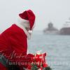 Santa  Comes to town with Kaye E. Barker Ship St Clair River