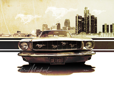Detroit-Muscle-65-Mustang-City-by-Peter-Michael