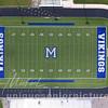 Marysville Vikings logo,  football Stadium , Marsville Michigan,