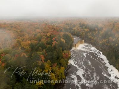 Tahquamenon Falls falldrone