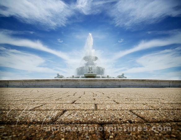 scott fountain, belle isle, detroit