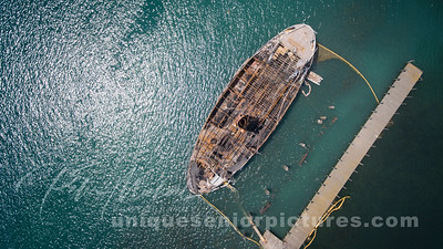 Boblo Boat Ste. Claire   Fire July 7, 2018