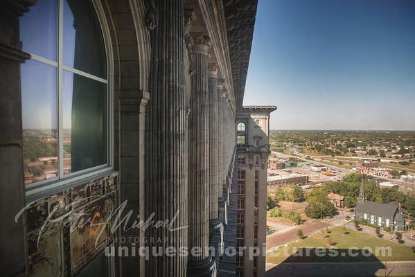 Michigan Central Station top floor Detroit
