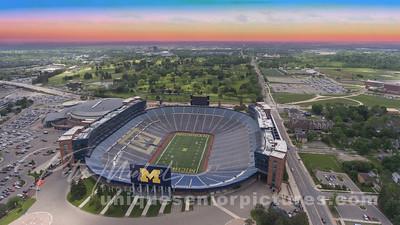 University of Michigan The Big House   , U of M   Ann Arbor