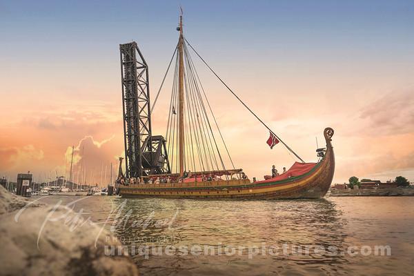 Draken Harald Hårfagre-Sunset2