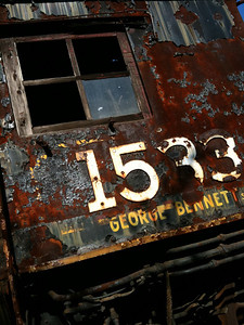 Old train engine found in rail yard in New Hope, PA