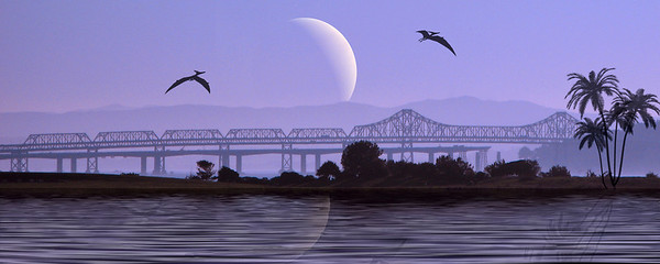 2nd Place San Benito County Fair 2010 Advanced Photo Art Division San Francisco Bay Bridge