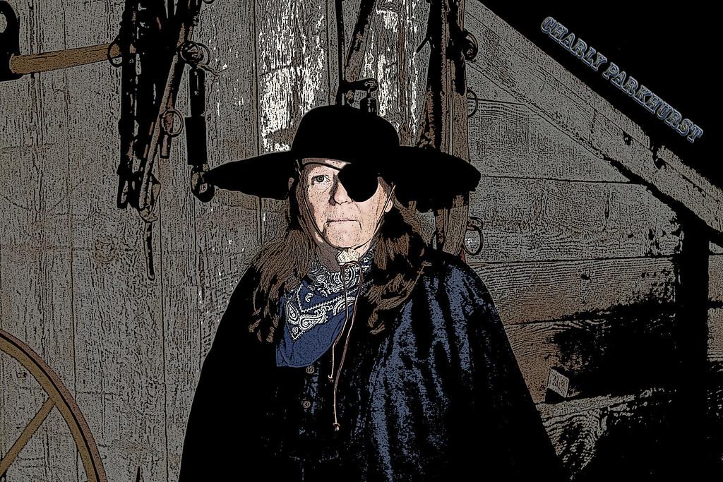 Sharon Daugherty as Charley Parkhurst