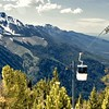 The Gondola is a convienient (although rather expensive) way to get up to the great views of Mt. Howard.  This shot is looking towards the northwest over Wallowa County.