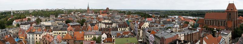 Sketch Views of Torun, Poland