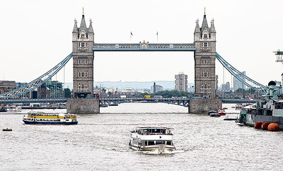 London, Tower Bridge, River Thames