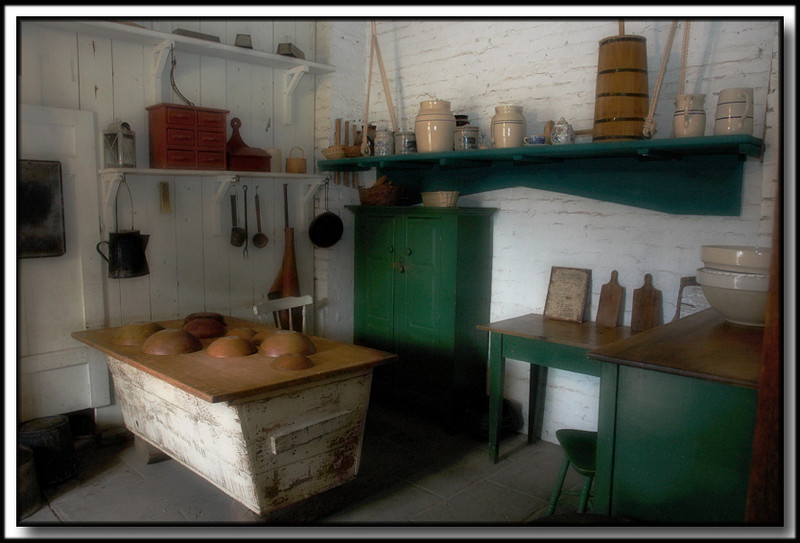 "Sutter Fort, ""The Kitchen"", Sacramento, Ca."
