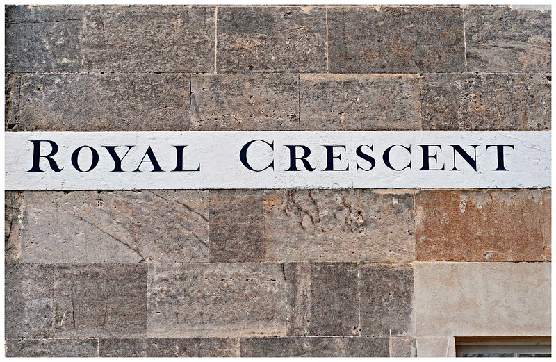 Royal Crescent Plate