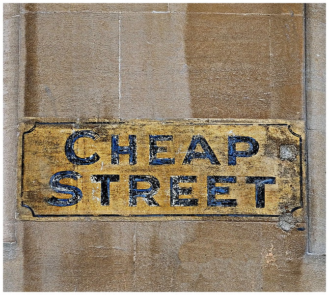 Cheap Street Sign