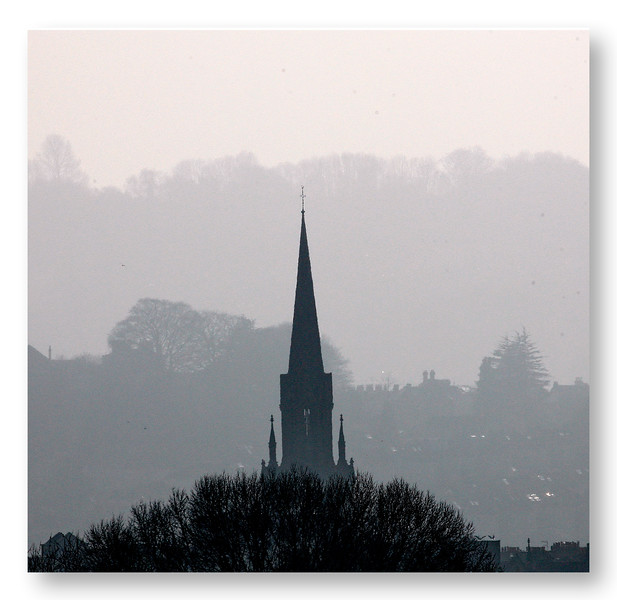 St Michael's Without in Morning Mists