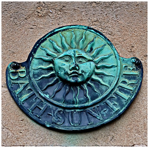Sun Fire Insurance Plate - Queen Square Bath
