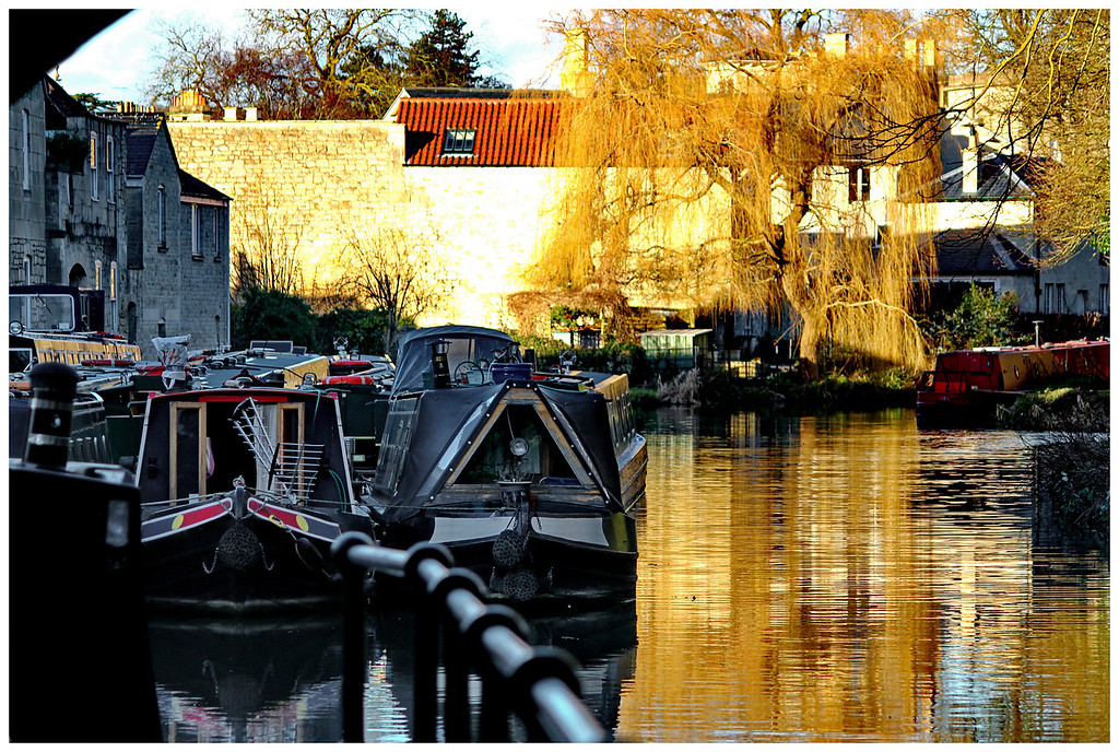 Winter in the Bathwick Canal Basin