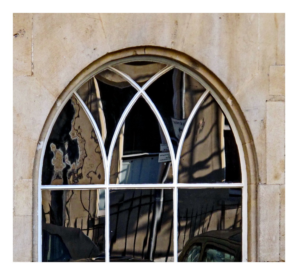 Window reflections - Assembly Rooms