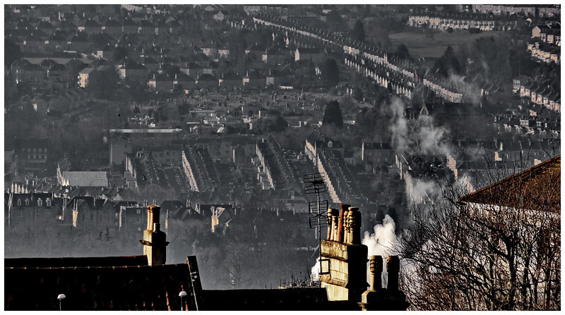Oldfield Park from Lansdown